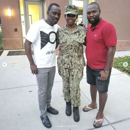 More Photos, Videos As Pasuma Visits Daughter Who Is A Naval Officer In U.S. Navy At Her Base