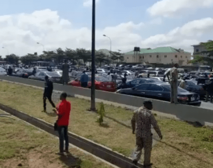 Security Operatives Fire Gunshots During Shiite Procession In Abuja