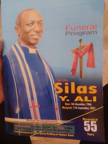 Slain ECWA Pastor Buried In Kaduna