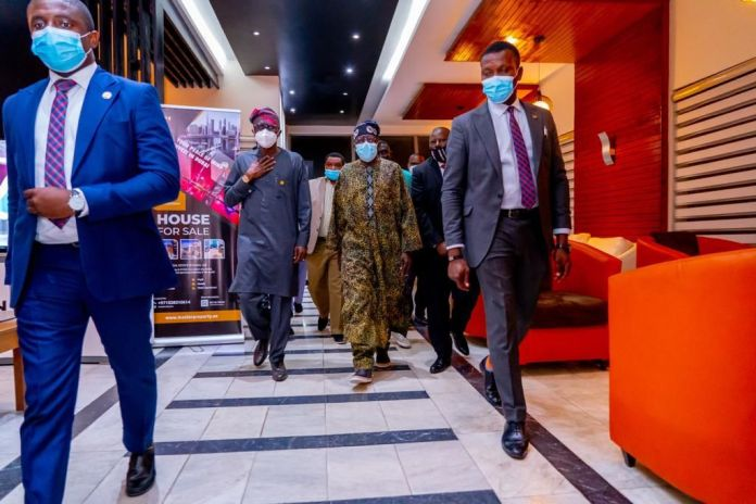 See More Photos As Tinubu Returns To Nigeria After Undergoing Knee Surgery In London