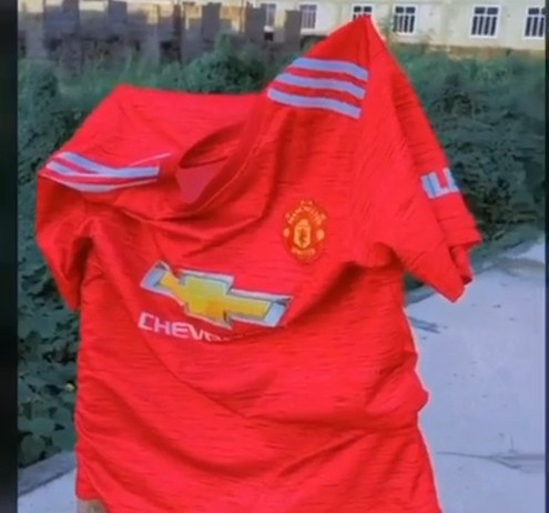 See Photos As Manchester United Fan Burns His Jersey