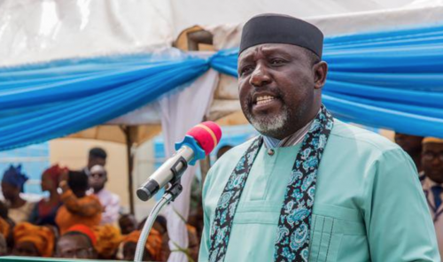 Senator Rochas Okorocha Submits Petition From Medical Interns Of UCTH To Senate