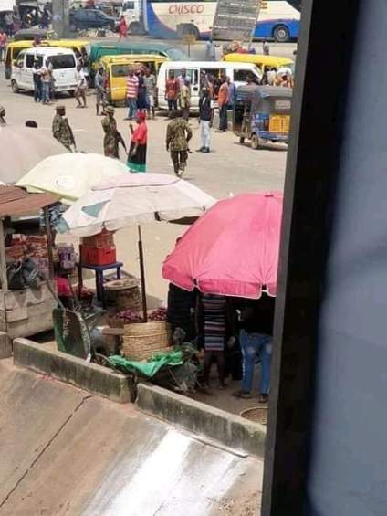 Soldiers Drag, Arrest Actor, Chinwetalu Agu Over Biafra Outfit