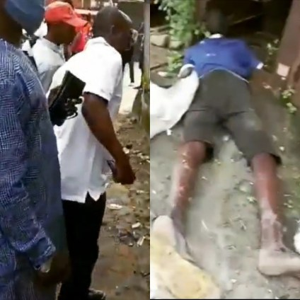 Suspected Thief Electrocuted As Transformer Blows Up In Lagos
