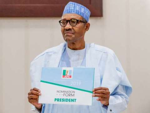 78 Candidates To Contest Against Buhari