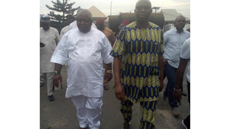 Former governor of Ekiti State Ayodele Fayose regains freedom