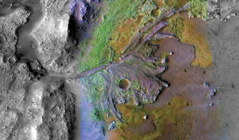 2020 Rover Touchdown - NASA Picks Ancient Martian River Delta