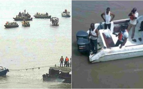Boat Carrying 20 Passengers Capsizes In Lagos, Three Persons Confirmed Dead
