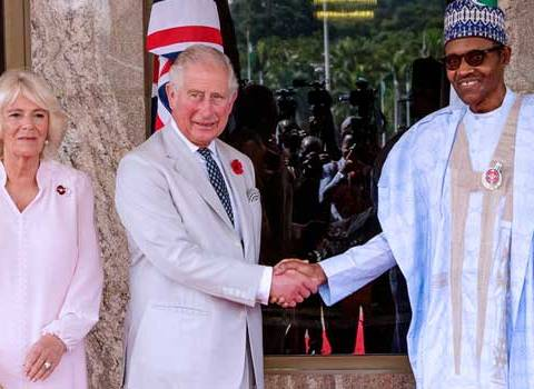 Buhari Welcomes Prince Charles In Abuja