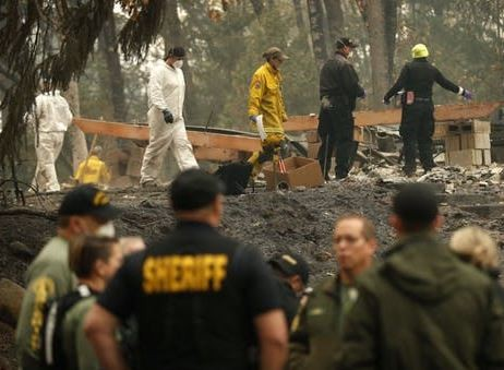 California Fire Death Toll Rises To 63, Over 600 People Still Missing