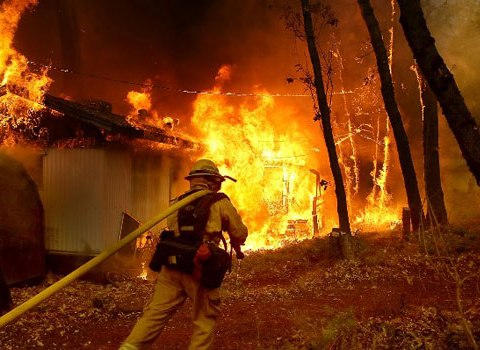Death Toll In California Wildfire Now 87