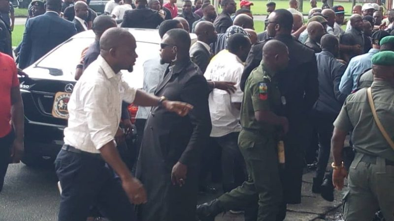 Did Akwa Ibom Governor, Udom Disrupts State House Of Assembly Sitting