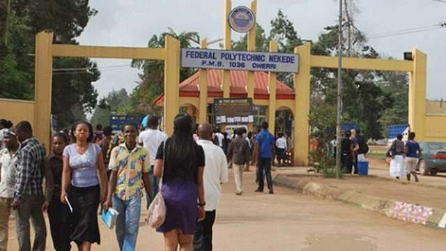 Federal Poly Nekede is now the best Polytechnic in Nigeria