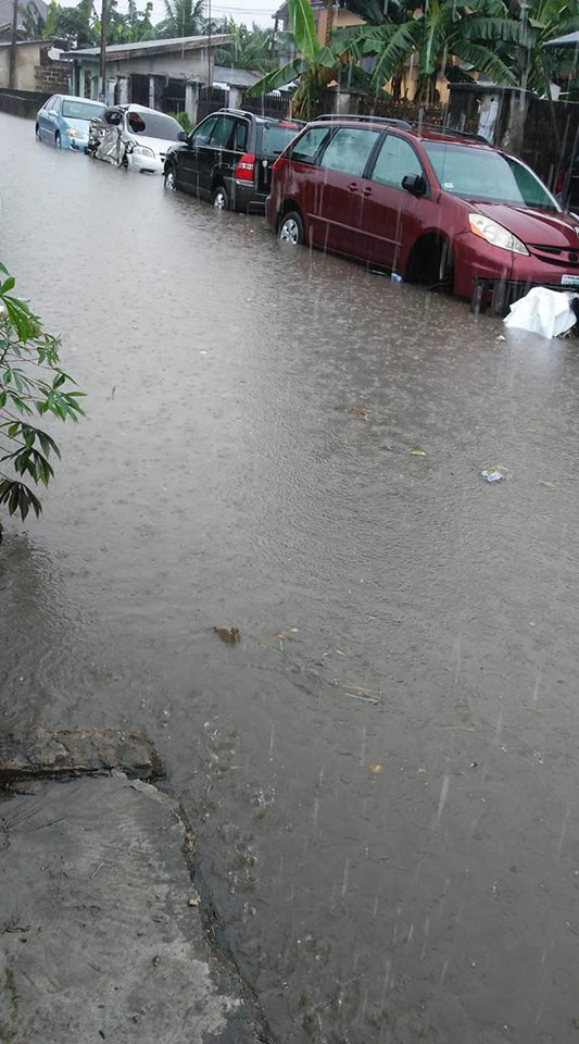 Flood Takes Over Some Parts Of Uyo, Akwa Ibom
