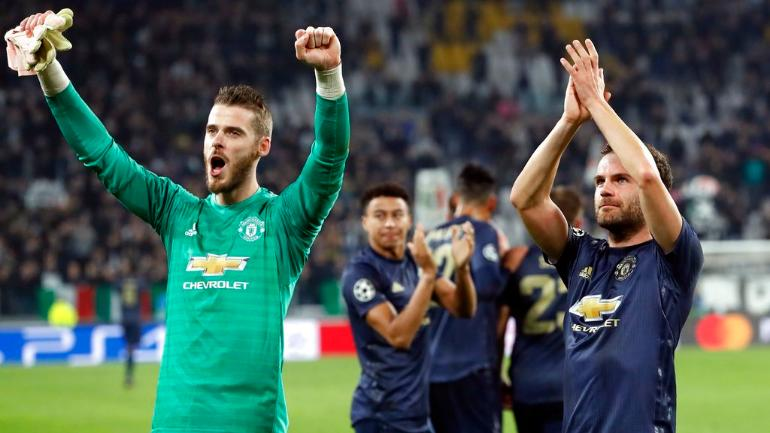 Manchester United Shock Football Fans With A Comeback At Turin