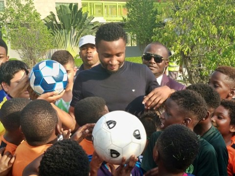 Mikel Obi Launches Football Clinic In Lagos