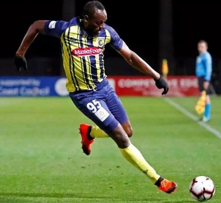 My Football Career Still Active - Usain Bolt