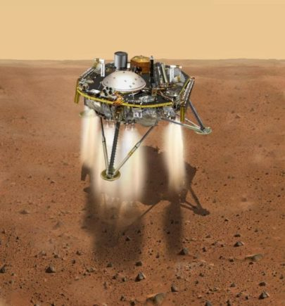 NASA Spacecraft Lands On Mars To Probe Inner Mysteries