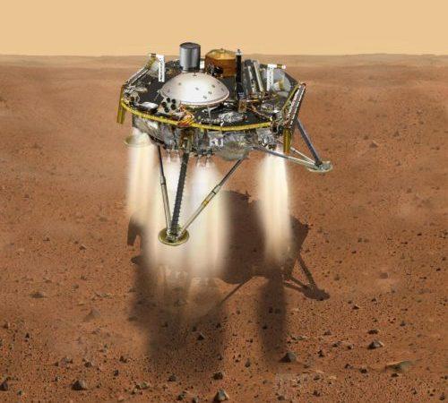 NASA Spacecraft Lands On Mars To Probe Inner Mysteries