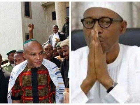 Nnamdi Kanu Claims President Buhari Is Dead