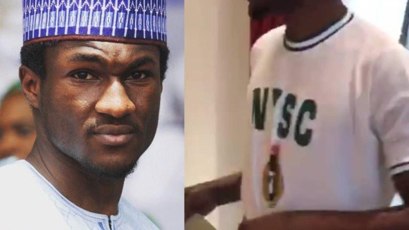 President Buhari's Son, Yusuf Becomes NYSC Corper