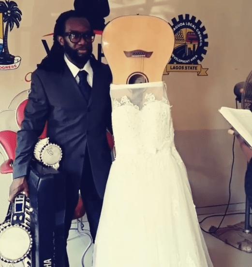 Shock As Man Marries His Guitar, Explains His Reason
