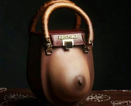 Trending 'Nipple' Inspired Handbag