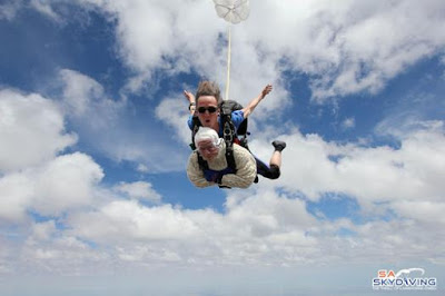 102-Year-Old Woman Becomes Oldest Skydiver, Flies On Her Birthday