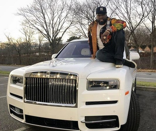 50 Cents Buys New Rolls Royce Worth $441,000