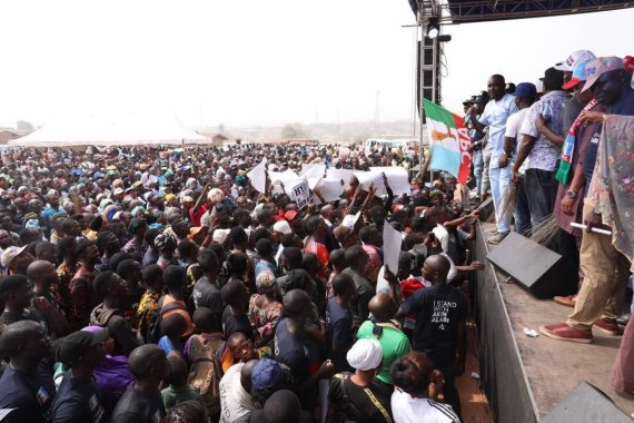 Akin Alabi (Nairabet Owner) Flags Off His Campaign