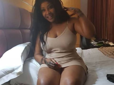 Angela Okorie Causes Commotion Online With Her Bedroom Photo