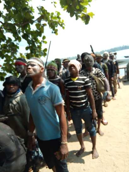 Bakassi Militants Surrender Arms To Cross River Government