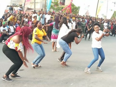 Biker's Carnival- Cross River Governor, Ayade Splashes 600k On Street Dancers