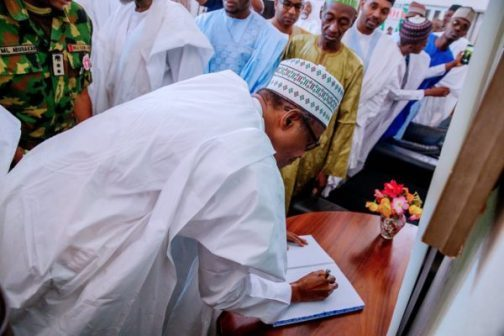 What President Buhari Told The Family Of Late Former President, Shehu Aliyu Shagari On Visit