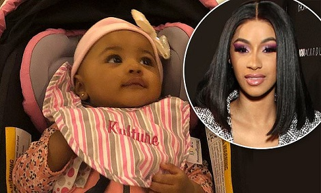 Cardi B Shares First Photo Of Daugher, Kulture