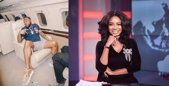 Davido Secretly Dating Ghanaian TV Presenter, Serwaa Amihere