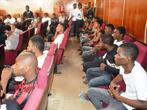 EFCC Arraigned 24 Yahoo Boys In Court