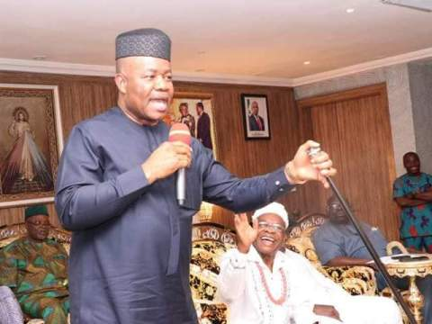 Ikot Ekpene Senatorial District Stake Holders Assures Sen Akpabio Of Victory