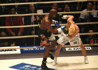 Mayweather Knocks Out Kickboxer Nasukawa Of Japan