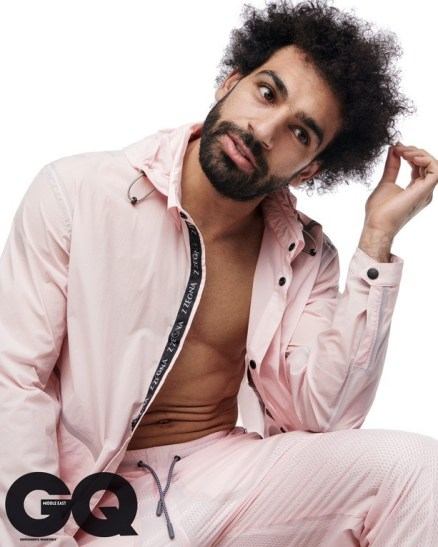 Mohamed Salah Covers For GQ Magazine