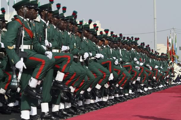Nigerian Army Send Out Five Generals