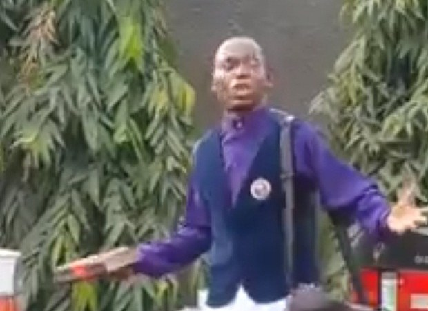 Pastor Shouts while Preaching On The Street.. – I Need A Car, Enough Is Enough