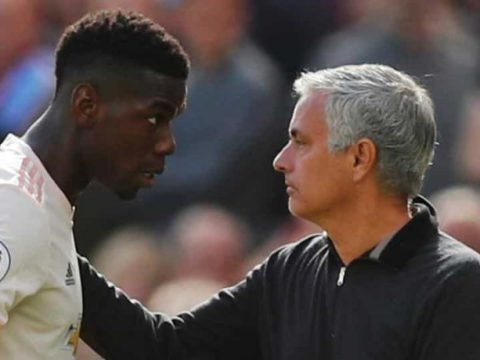 Pogba Reacts To Mourinho's Sack