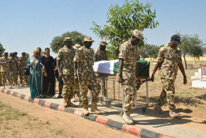 Soldiers Killed In Metele Massacre By Boko Haram Terrorists Buried
