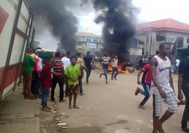 Three Suspected Robbers Burn To Death In Cross River