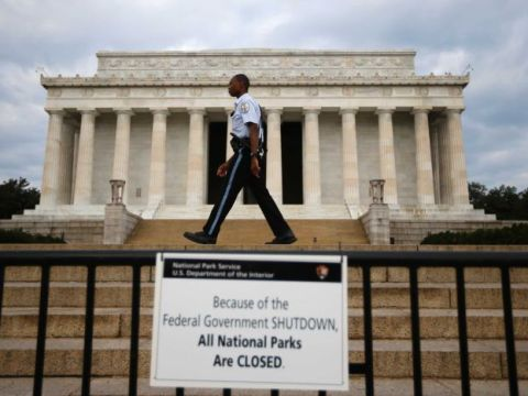 U.S. Federal Government Shut Down For The Third Time In A Year