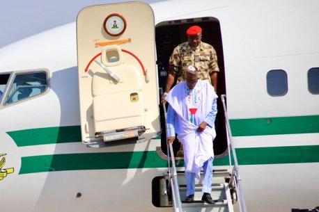 APC Presidential Campaign Kicks As President Muhammadu Buhari Lands In Borno