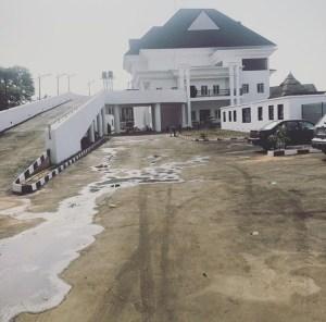 Emmanuel Emenike Completes His New Mansion In Nigeria