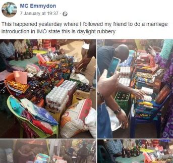 What A Bride's Family Requested For Marriage Introduction In Imo