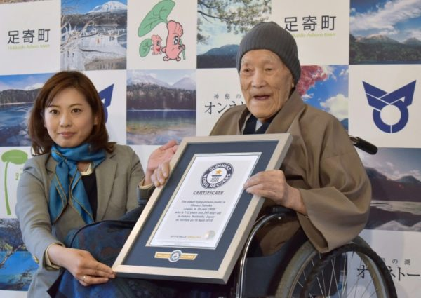 World's Oldest Man At 113, Nonaka Is Dead